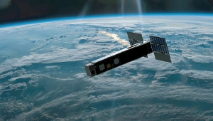 Biarri Satellite in space  (artists impression).