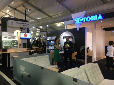 Victorian  Pavilion  at  2019  Australian  International  Airshow